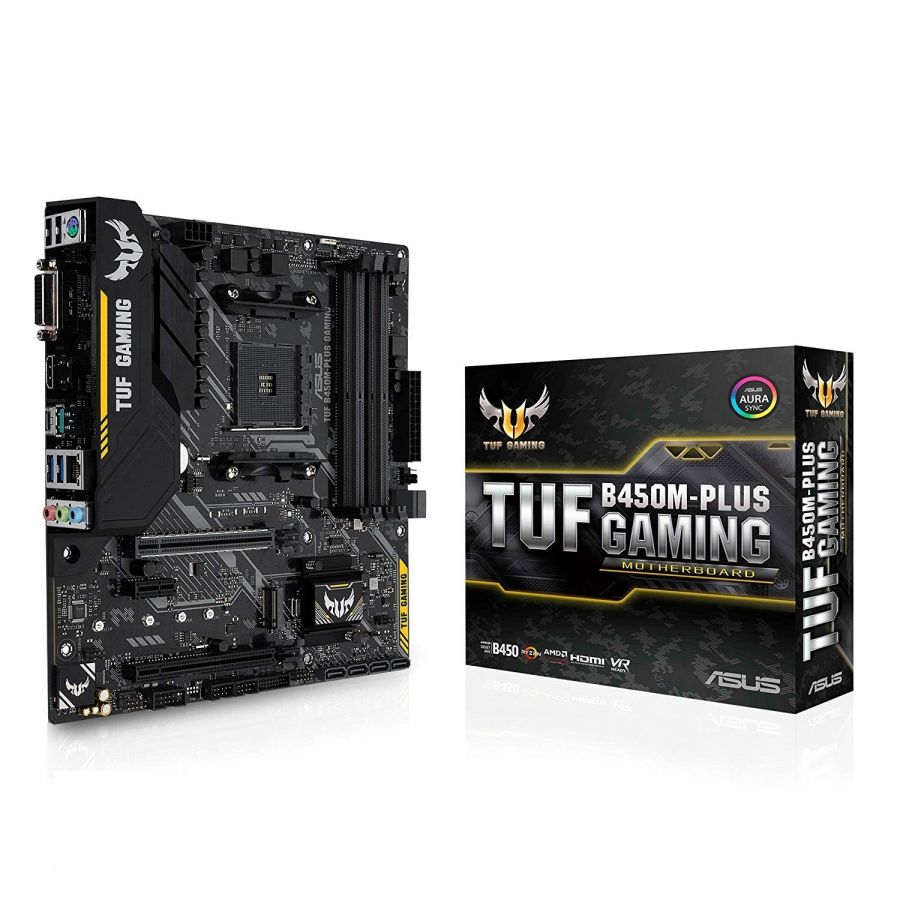 Материнская плата Asus TUF B450M-Plus Gaming Socket AM4