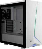 Корпус Corsair Carbide SPEC-06 RGB Tempered Glass White (CC-9011147-WW) без БП