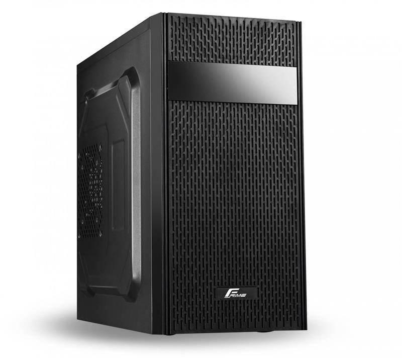 Корпус Frime FC-012B 400W-12cm 1*USB2.0, 1*USB3.0 2 2 SATA mATX