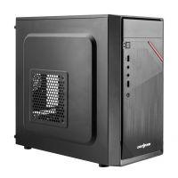 Корпус Logicpower 6105-400W 12см, 2xUSB2.0, Black