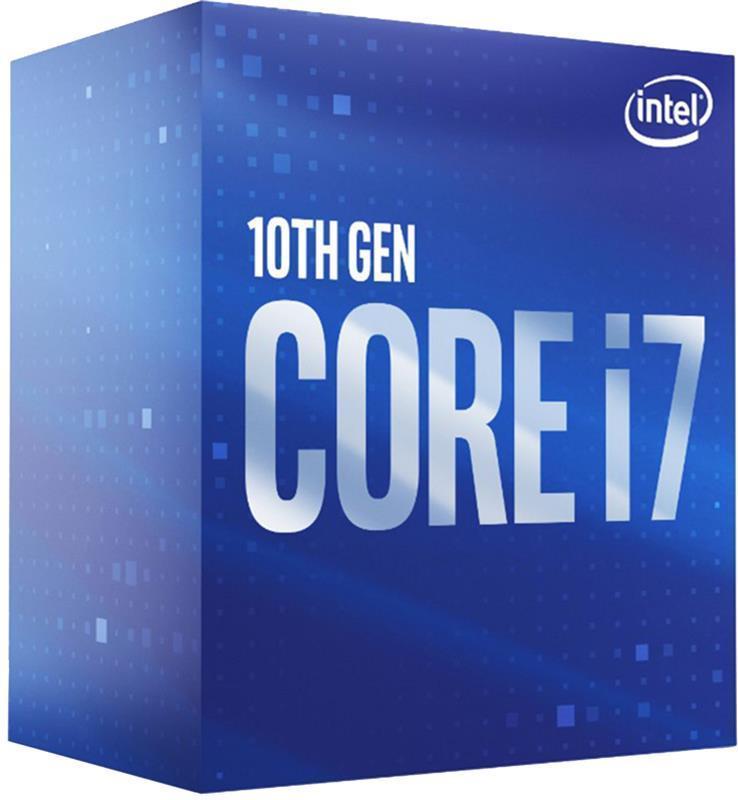 Процессор Intel Core i7 10700 2.9GHz (16MB, Comet Lake, 65W, S1200) Box (BX8070110700)