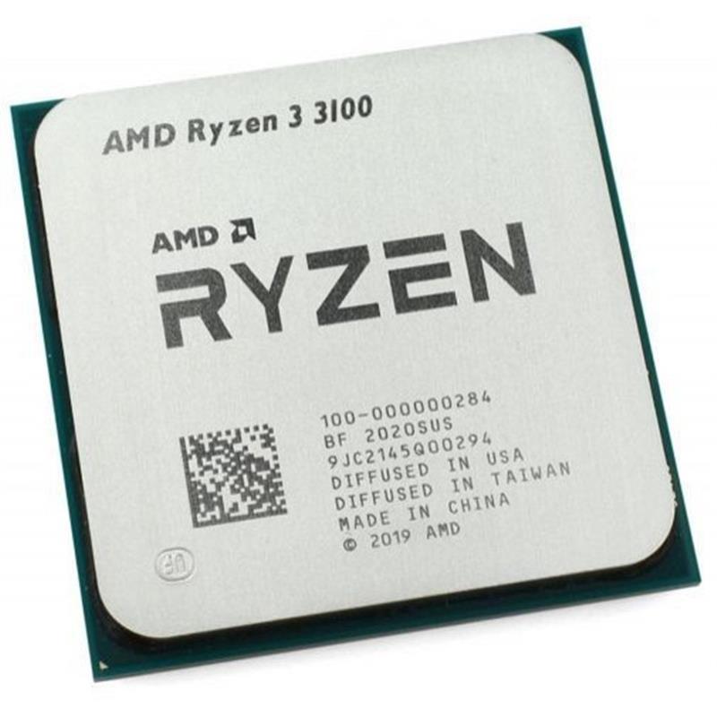 Процессор AMD Ryzen 3 3100 (3.6GHz 16MB 65W AM4) Multipack (100-100000284MPK)