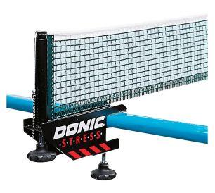 Сетка для настольного тенниса с креплением Donic Stress черный/зеленый