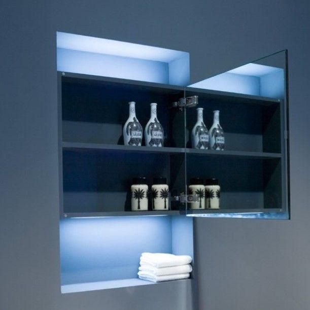 Зеркальный шкаф Antonio Lupi Mantra Mantra190 ФОТО