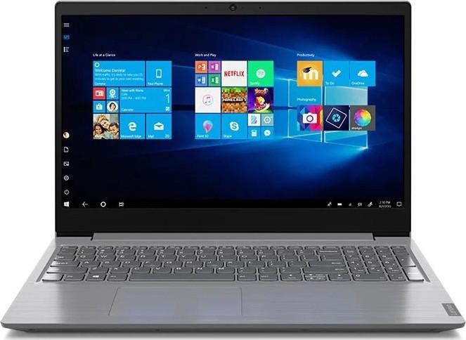 "Ноутбук Lenovo V15 (82C500G8RA); 15.6"" FullHD (1920x1080) TN LED матовый / Intel Core i5-1035G1 (1.0 - 3.6 ГГц) / RAM 4 ГБ / SSD 256 ГБ / Intel UHD Graphics G1 / нет ОП / Wi-Fi / BT / веб-камера / DOS / 1.85 кг / серый"
