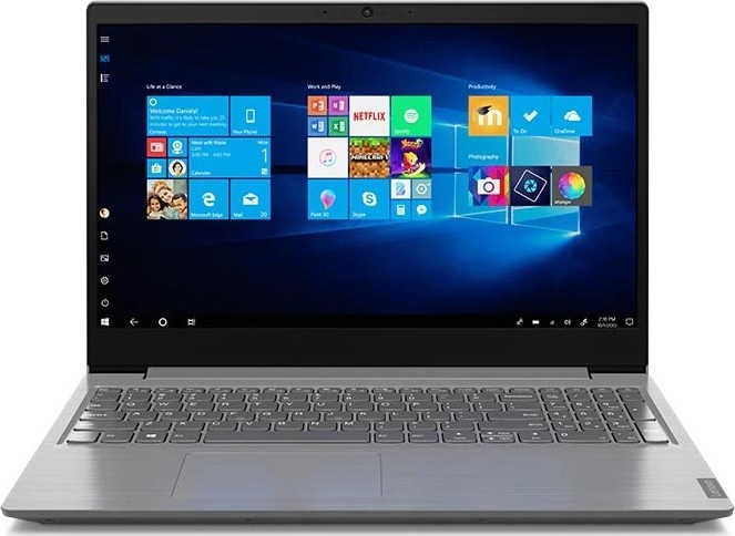 "Ноутбук Lenovo V15 (82C500JNRA); 15.6"" FullHD (1920x1080) TN LED матовый / Intel Core i5-1035G1 (1.0 - 3.6 ГГц) / RAM 8 ГБ / HDD 1 ТБ + SSD 128 ГБ / Intel UHD Graphics G1 / нет ОП / Wi-Fi / BT / веб-камера / DOS / 1.85 кг / серый"