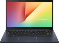 "Ноутбук Asus X413FA-EB369 (90NB0Q07-M10310); 14.0"" FullHD (1920х1080) IPS матовый / Intel Core i5-10210U (1.6 - 4.2 ГГц) / RAM 8 ГБ / SSD 256 ГБ / Intel UHD Graphics / нет ОП / Wi-Fi / BT / веб-камера / Without OS / 1.4 кг / черный / подсветка клавиа"