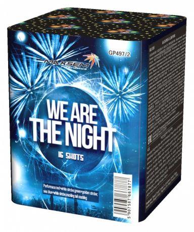 "Батарея салютов ""WE ARE THE NIGHT"" 16 залпов"