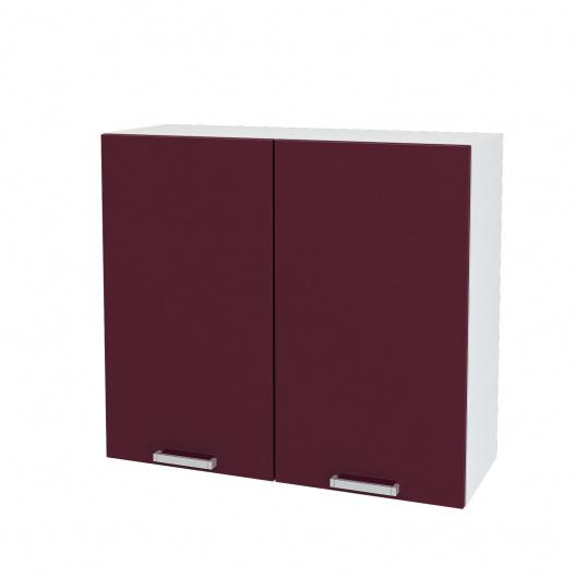 Шкаф верхний 2-х дверный Глория ШВ 800
