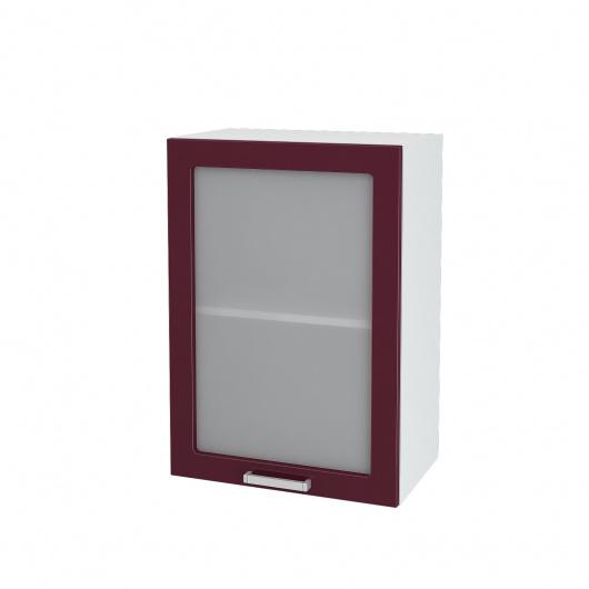 Шкаф верхний со стеклом Глория ШВС 500