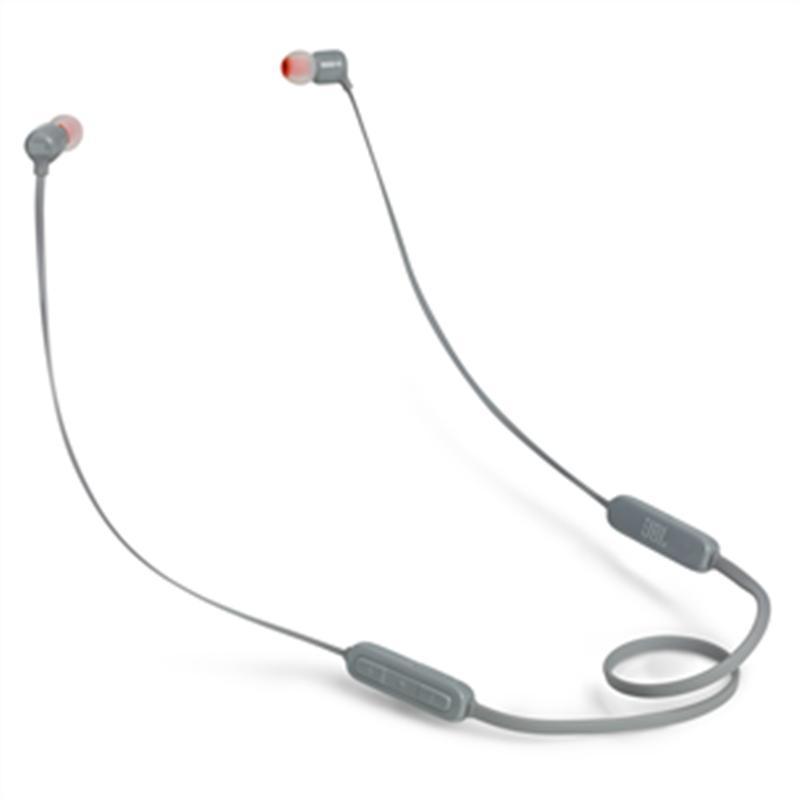 Bluetooth-гарнитура JBL T110BT Gray (JBLT110BTGRY)