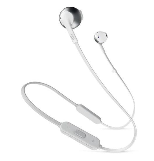Bluetooth-гарнитура JBL T205BT Silver (JBLT205BTSIL)