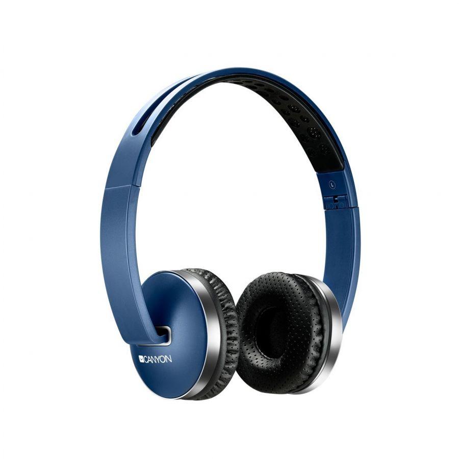 Bluetooth-гарнитура Canyon CNS-CBTHS2BL Blue
