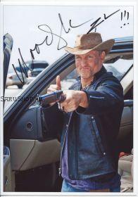 Автограф: Вуди Харрельсон. Добро пожаловать в Zомбилэнд / Zombieland