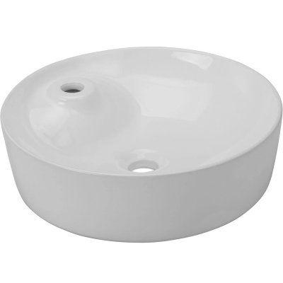 Раковина для ванной белая к столешнице Gappo GT104