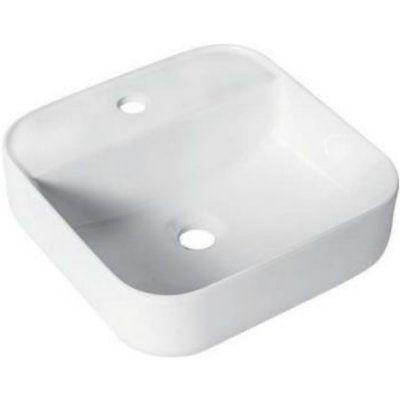 Раковина для ванной белая к столешнице GT205