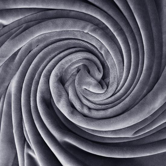 Мелковорсовый мех (ворс 1-2 мм) - цвет Серый 50*40
