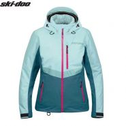 Куртка женская Ski-Doo Ladies Mcode, Голубая мод. 2021