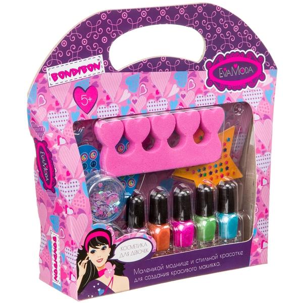 Набор детской декорат. косметики лаки для ногтей