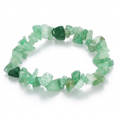 Браслет из натурального камня Зелёный авантюрин