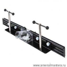 Фрезерный упор с защитным ограждением и накладками из алюминиевого профиля для фрезерного стола JET 98800FJ