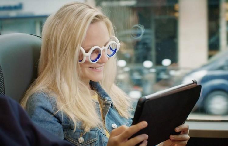 Инновационные очки от укачивания в транспорте Seetroen