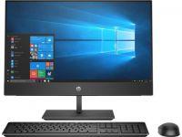 "Моноблок HP ProOne 440 G5 (6AE52AV_V5); 23.8"" (1920х1080) IPS сенсорный / Intel Core i3-9100T (3.1 - 3.7 ГГц) / RAM 8 ГБ / SSD 256 ГБ / Intel HD Graphics 630 / DVD-RW / LAN / Wi-Fi / Bluetooth / веб-камера / DOS / черный / клавиатура + мышь"