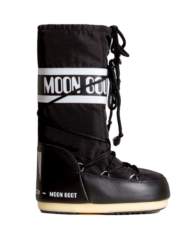 Moon Boot Nylon Black / 45-47.