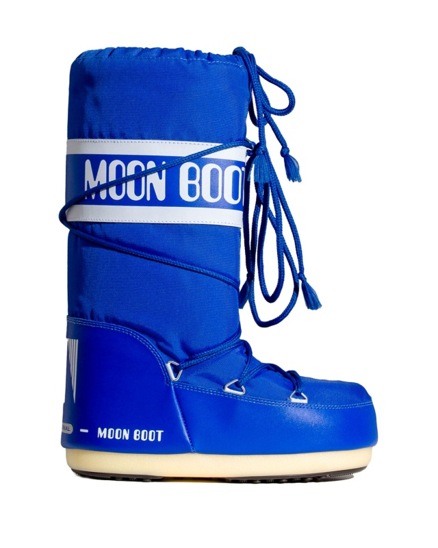 Moon Boot Nylon Electric Blue / 35-38, 45-47.