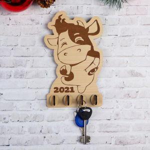 """Ключница """"Веселая коровка"""" 2021 5363167"""