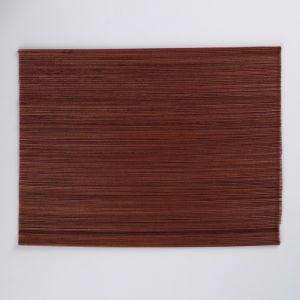 Салфетка плетёная, коричневая, 30?40 см, бамбук 4501522