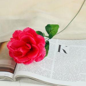 """Цветок искусственный """"Малиновая роза Делайт"""""""
