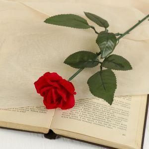 """Цветок искусственный """"Роза раскрытая"""""""