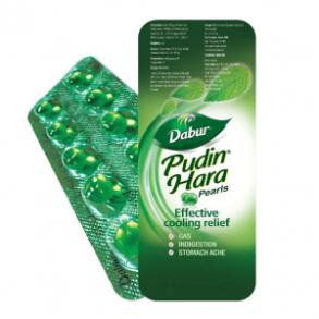Пудин Хара - смесь мятных масел в капсулах. Вздутие живота (метеоризм)Pudinhara