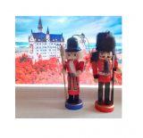 Щелкунчик - набор деревянных ёлочных игрушек 6 шт IR6125V