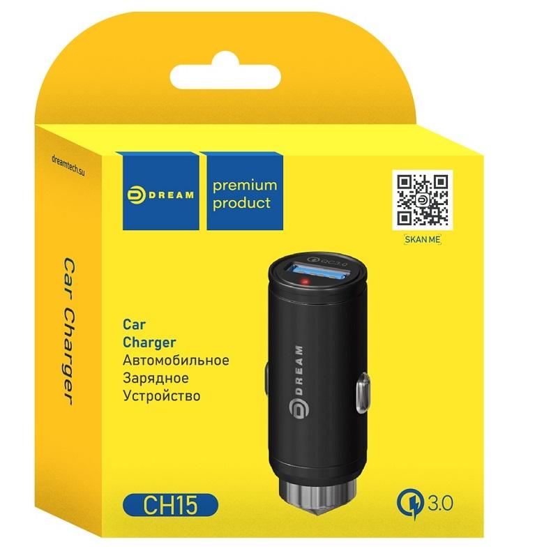 Автомобильное зарядное устройство 1 USB 2A
