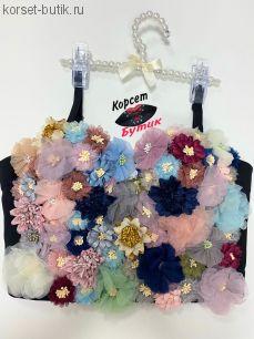 Корсет Цветы