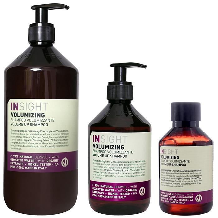 Шампунь для объёма  Volumizing Shampoo INSIGHT