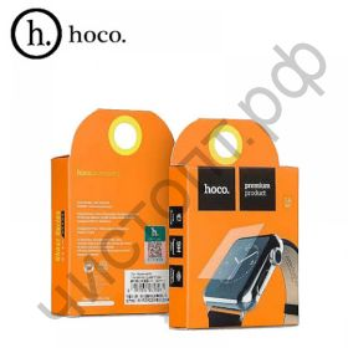 Защитное стекло APPLE Watch 38mm, 0.15 мм, 2D, глянцевое HOCO
