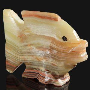 Сувенир «Рыба», 5 см, оникс 1590339