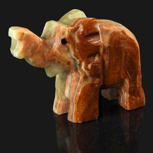 Сувенир «Слон», 5 см, оникс 3400458