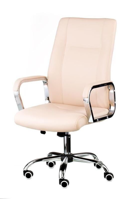 Кресло офисное Special4You Marble Beige (E4794)