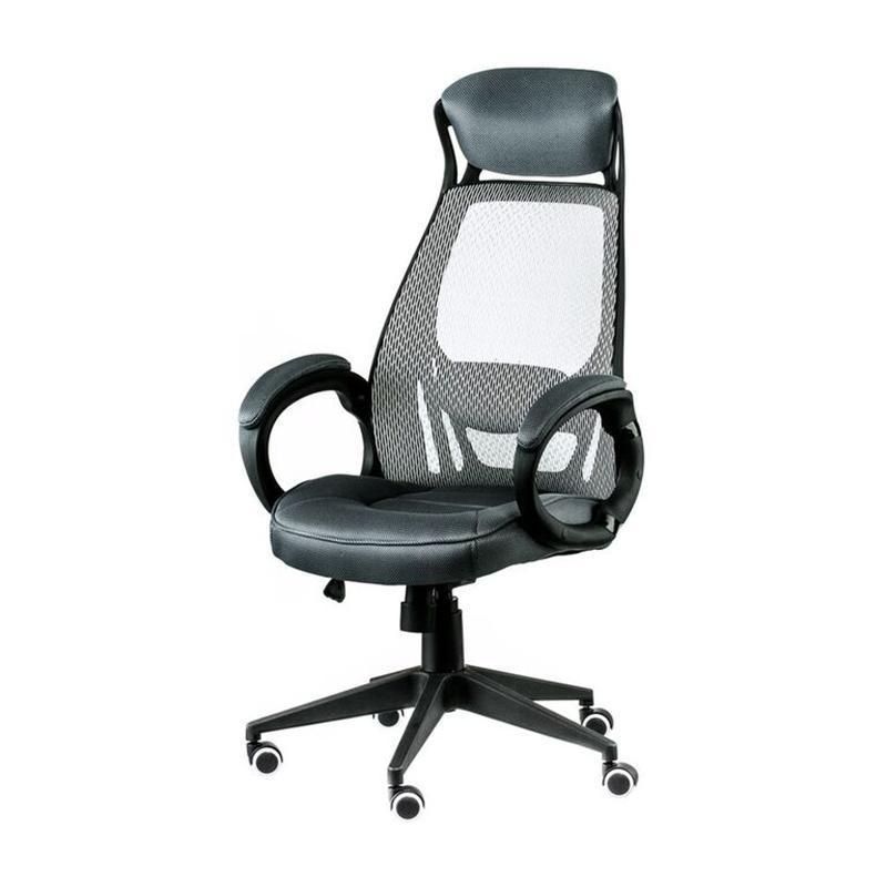 Кресло офисное Special4You Briz Grey/Black (E4909)