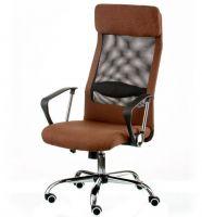 Кресло офисное Special4You Silba Brown (E5814)