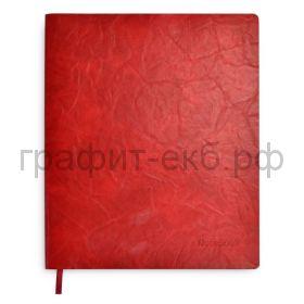 Книжка зап.Феникс+ А4+ ЛИНКОЛЬН красный 80л.клетка 52898