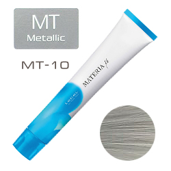 Lebel Materia µ Layfer MT10 - Тонирующая краска лайфер, Яркий блондин металлик 80гр