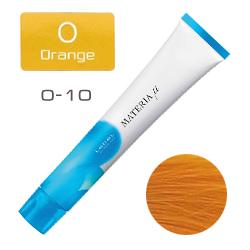 Lebel Materia µ Layfer O10 - Тонирующая краска лайфер, Яркий блондин оранжевый 80гр
