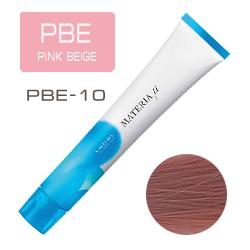 Lebel Materia µ Layfer PBE10 - Тонирующая краска лайфер, Яркий блондин розово-бежевый 80гр