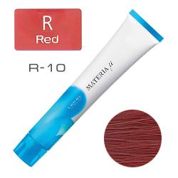 Lebel Materia µ Layfer R10 - Тонирующая краска лайфер, Яркий блондин красный 80гр