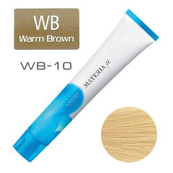 Lebel Materia µ Layfer WB10 - Тонирующая краска лайфер, Яркий блондин тёплый 80гр